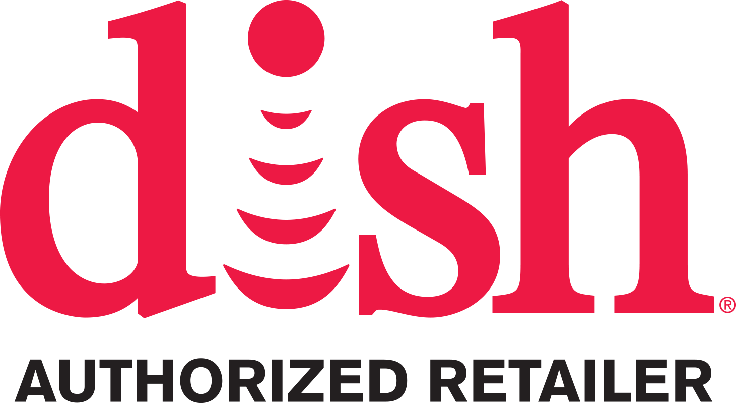 DISH Authorized Retailer Logo Vertical 4C Red 2013